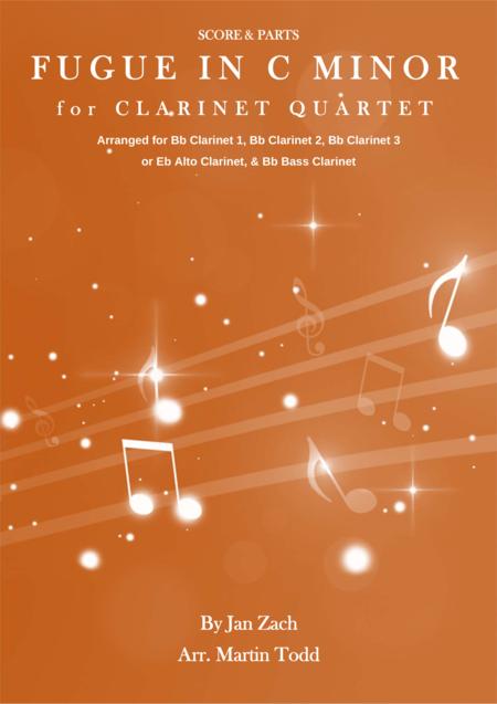 Fugue in C Minor for Clarinet Quartet