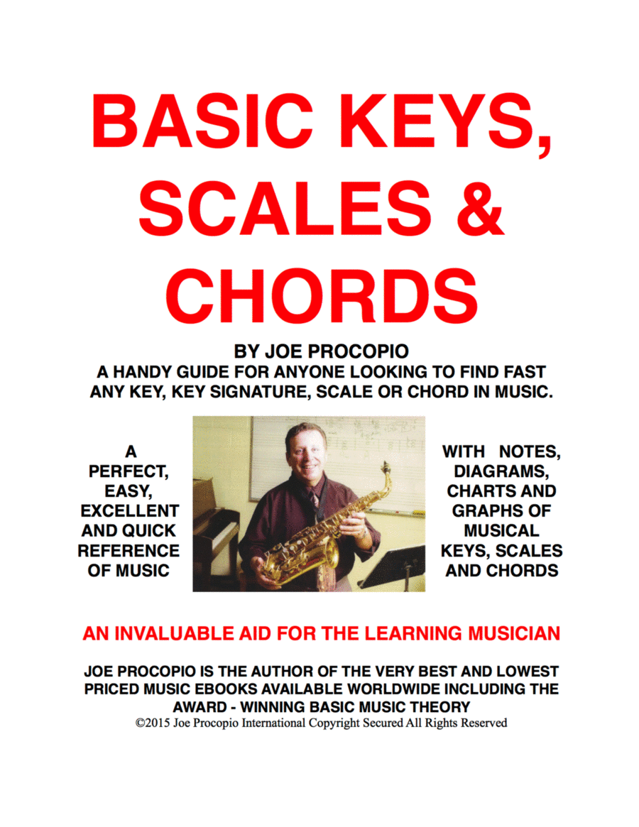 BASIC KEYS, SCALES & CHORDS A Handy Guide For Anyone Looking To Find Fast Any Key, Key Signature, Scale Or Chord In Music