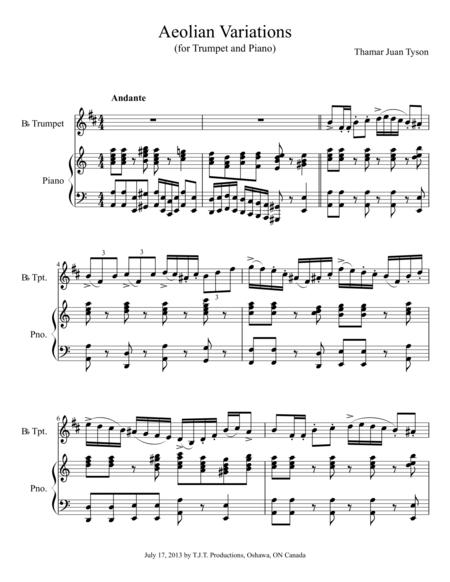 Aeolian Variations