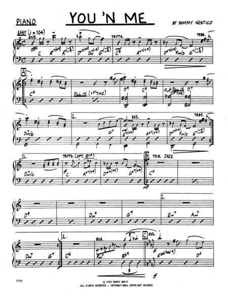 You 'N Me - Piano