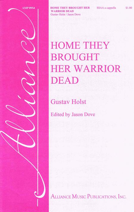 analysis home they brought her warrior dead Activities related to poemhome they brought her warrior dead name: yanet segovia teacher: carla chávez edi 511-methodology 2 faculty o.