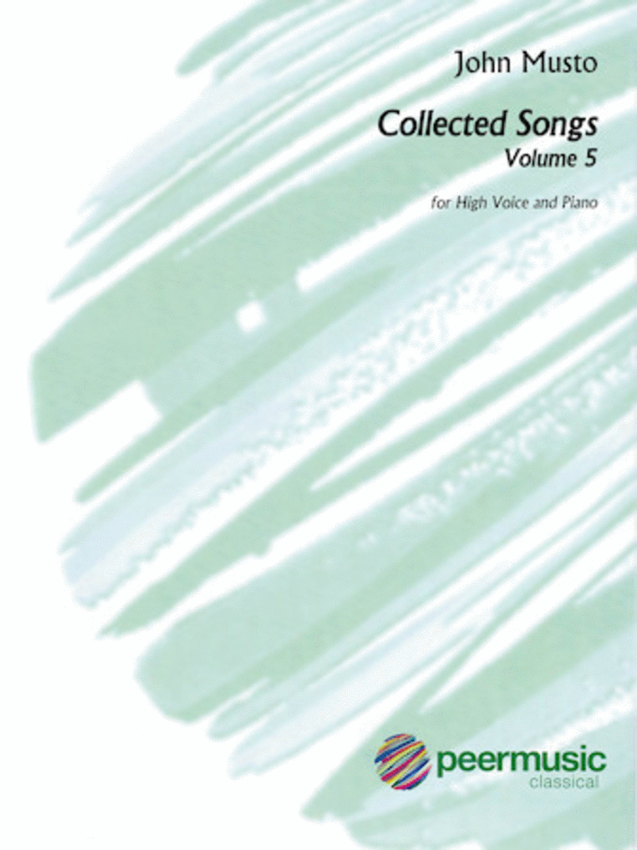Collected Songs for High Voice - Volume 5