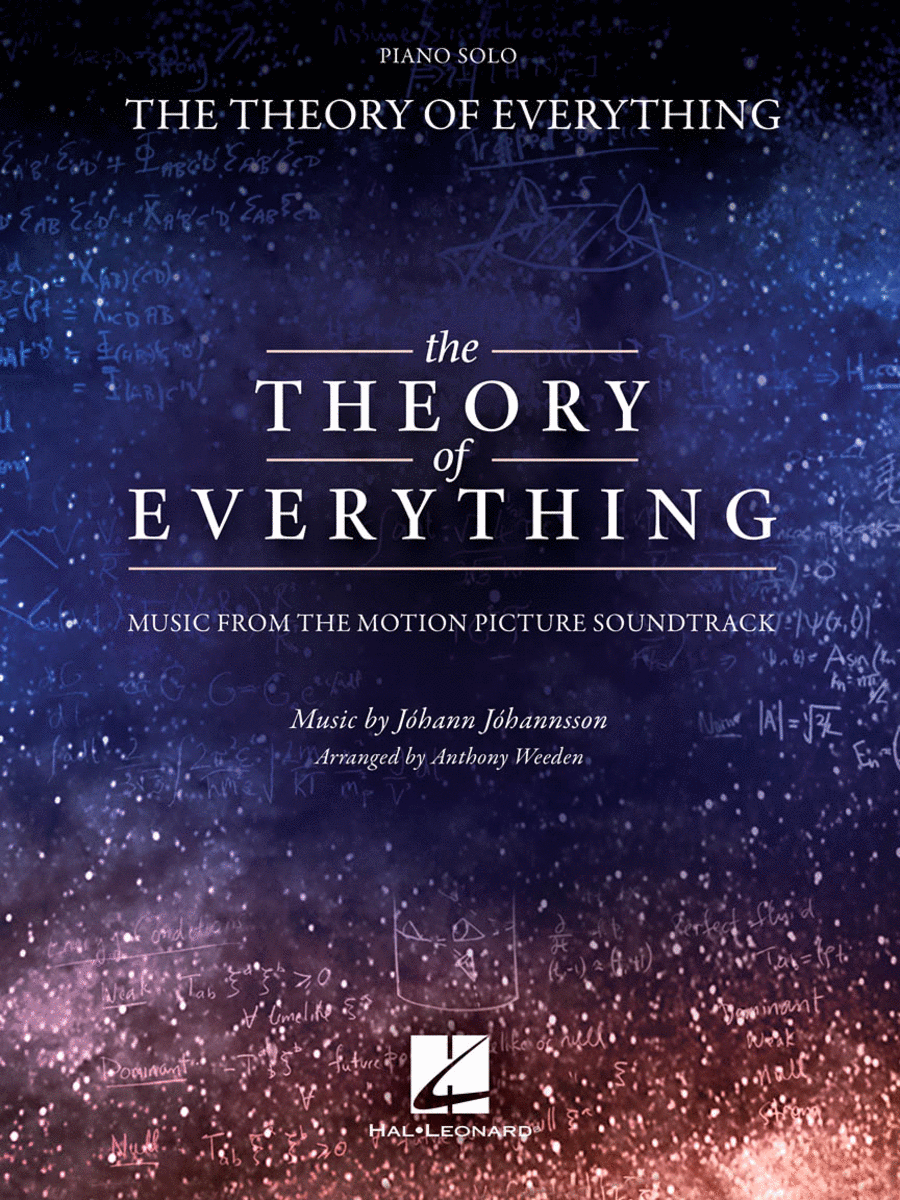 The Theory Of Everything Sheet Music By Johann Johannsson