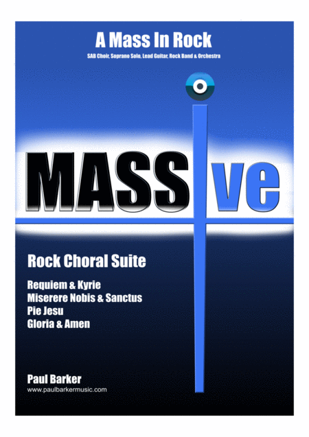 MASSive - A Mass In Rock - (Complete Instrumental Pack - Excluding Conductor's Score)