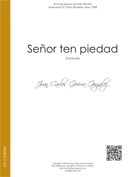 Señor ten piedad - Juan Carlos Guerra Gonzalez