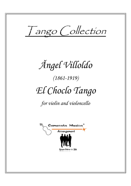 El Choclo Tango for violin and cello duet