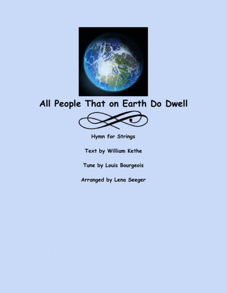 All People That on Earth Do Dwell (String Orchestra)