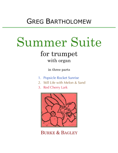 Summer Suite for trumpet & organ