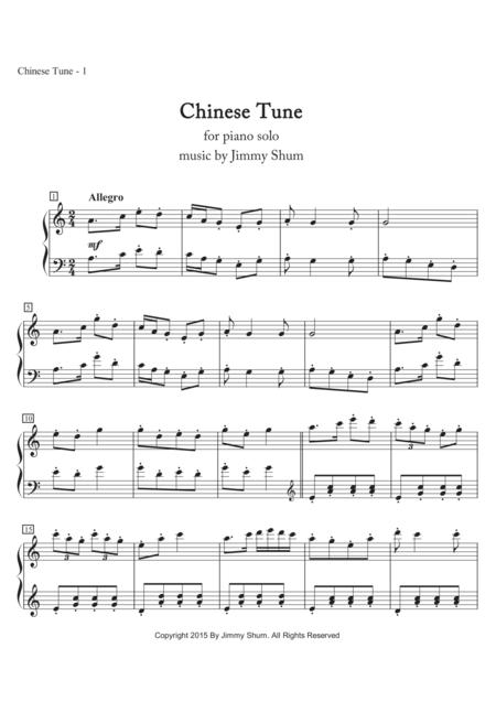 Chinese Tune