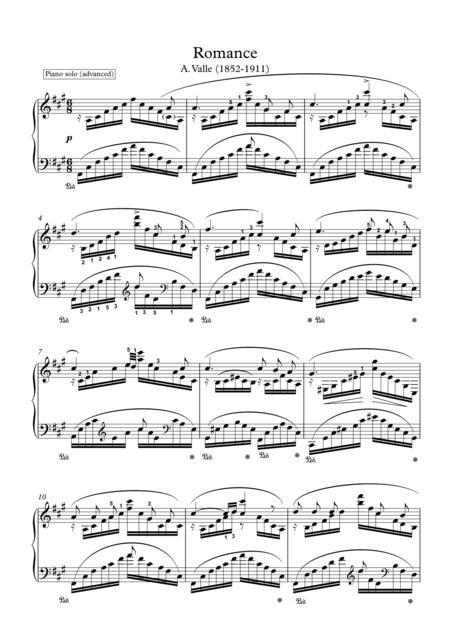 A Romance for Piano solo