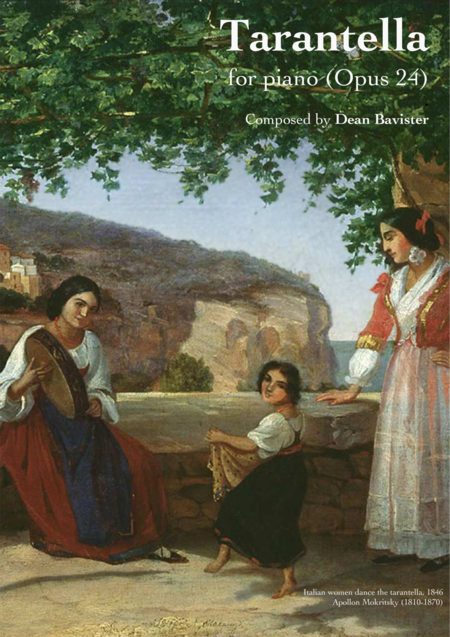 Tarantella for Piano (Opus 24)