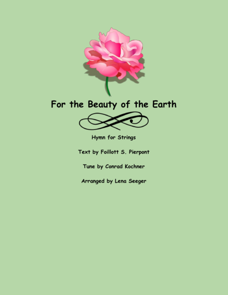 For the Beauty of the Earth (String Orchestra)