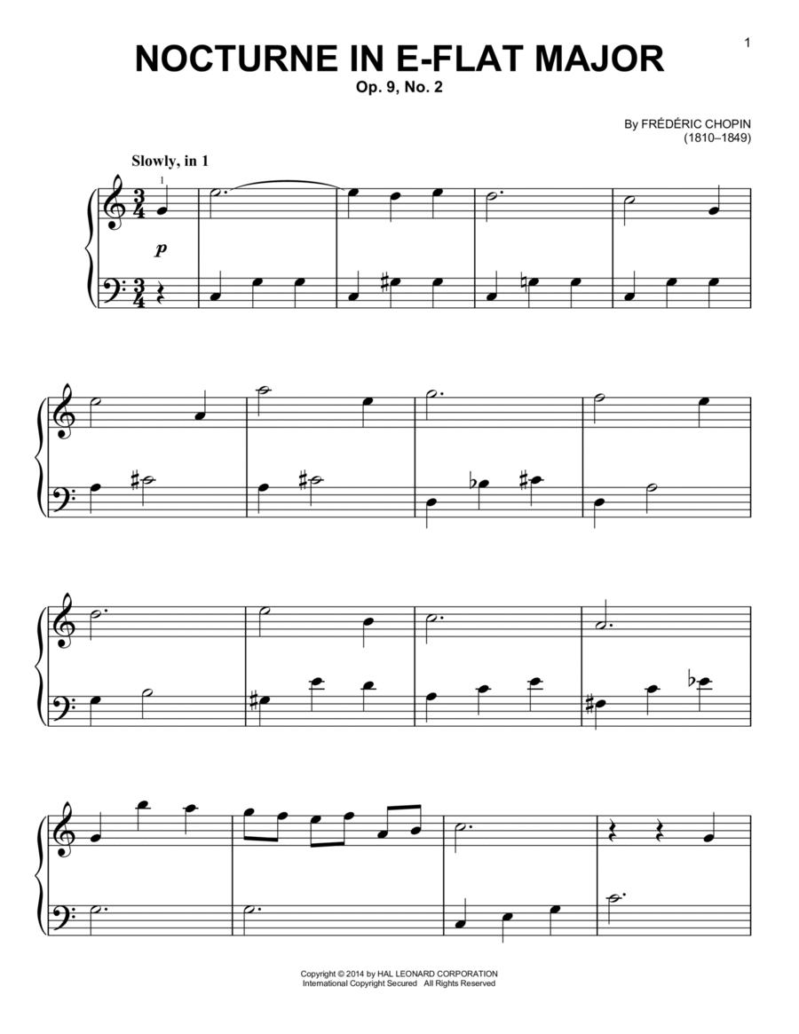 Nocturne In E Flat Major Op.9 No.2