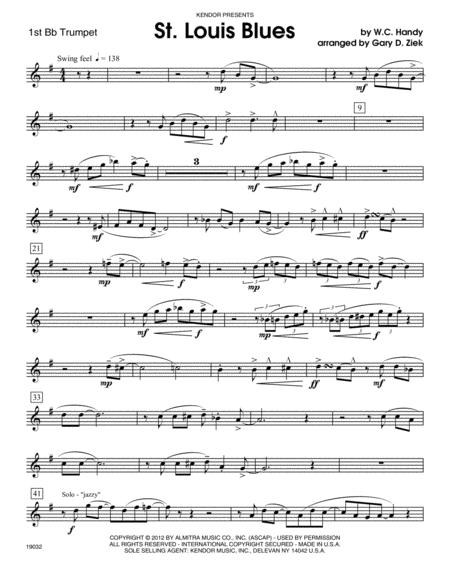 St. Louis Blues - Trumpet 1