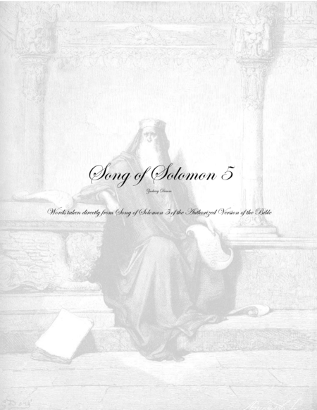 Song of Solomon 5