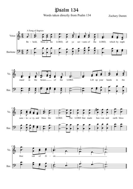 Psalm 134