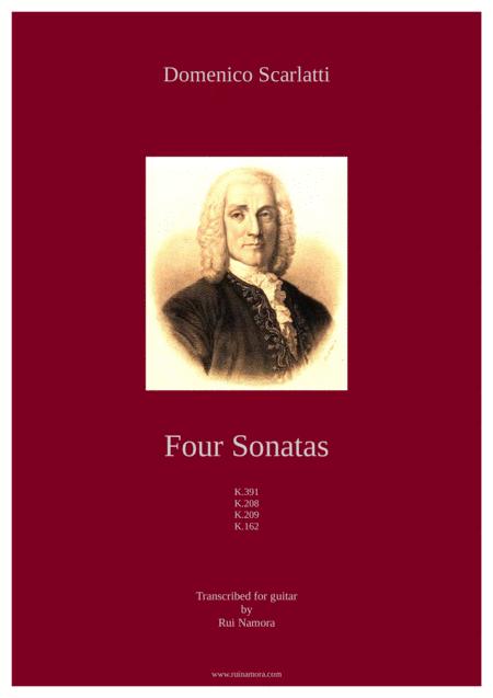 Four Sonatas, K.391, K.208, K.209, K.162