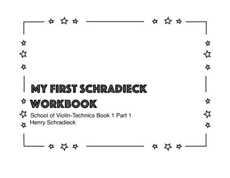 My First Schradieck Workbook