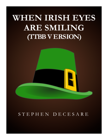 When Irish Eyes Are Smiling (TTBB)