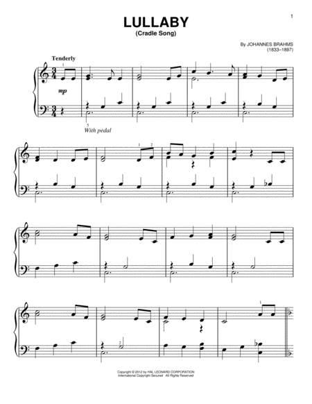 Lullaby (Cradle Song)