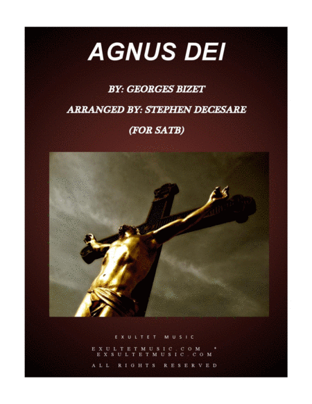 Agnus Dei (for SATB)