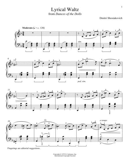 Lyrical Waltz