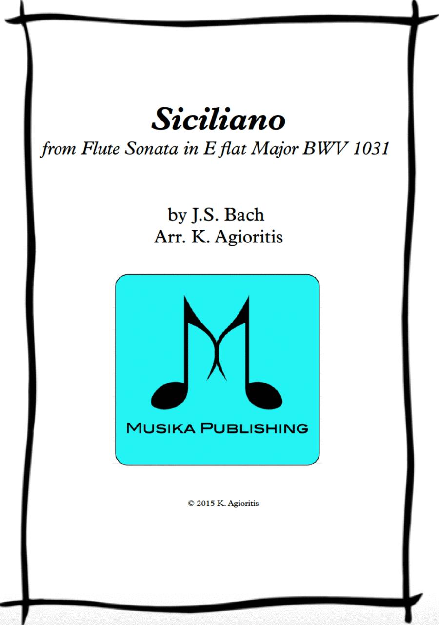 Siciliano - for String Quartet