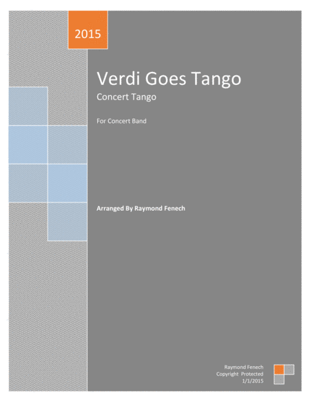 Verdi Goes Tango (For Concert Band)
