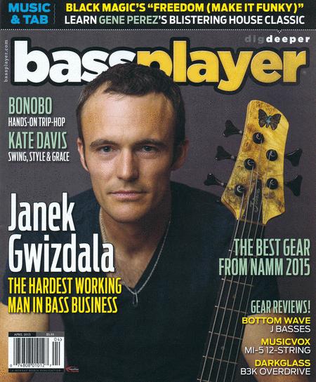 Bass Player Magazine April 2015