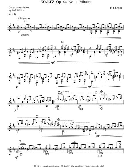 Waltz (Op.64, No 1)  ''Minute''