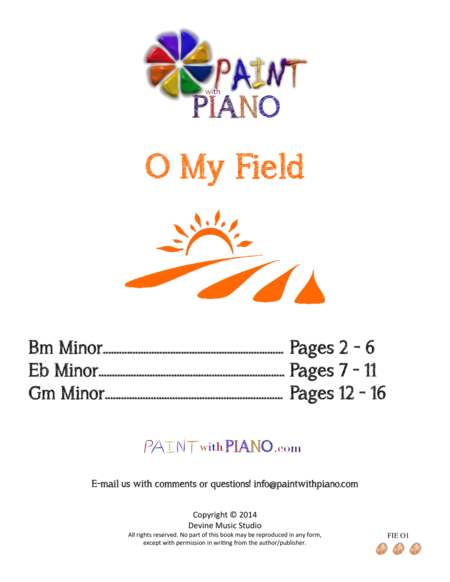 O My Field (Polyushko-polye) arr. for easy piano