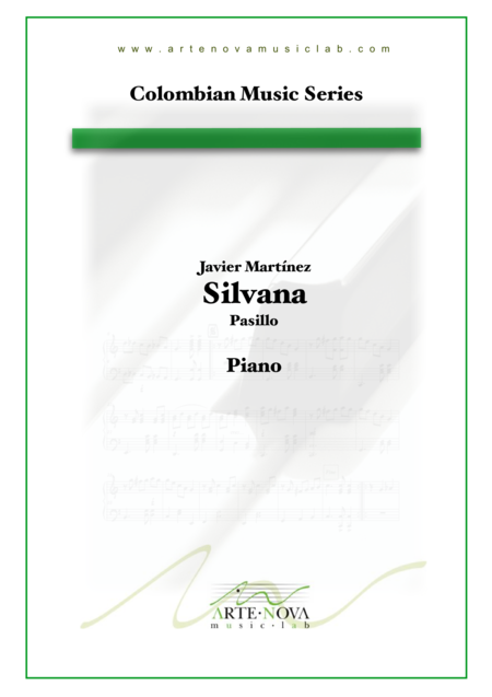 Silvana - Pasillo para Piano