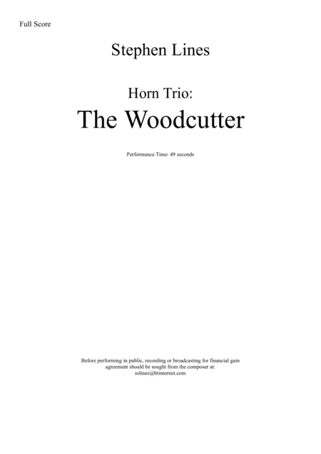 Horn Trio: The Woodcutter