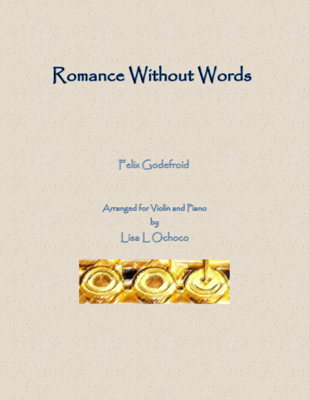 Romance Without Words for Violin and Piano