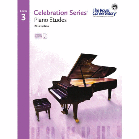 Celebration Series: Piano Etudes 3