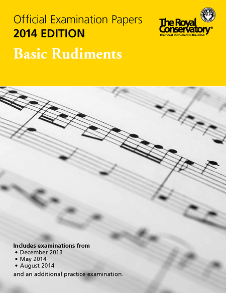Official Examination Papers: Basic Rudiments