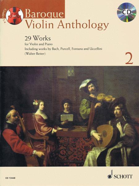 Baroque Violin Anthology - Volume 2
