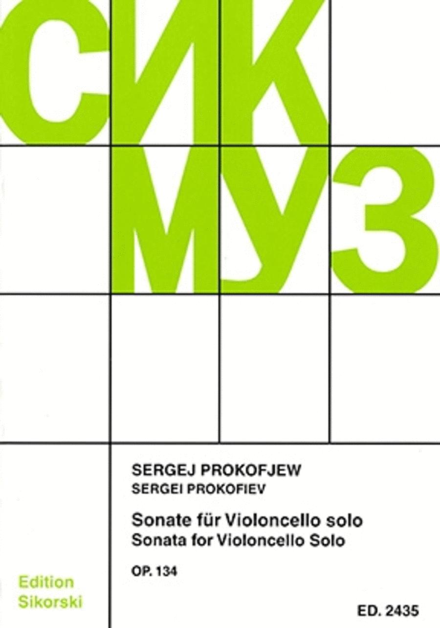 Sonata Op. 134