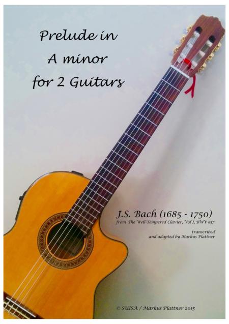 Prelude in A minor for 2 Guitars