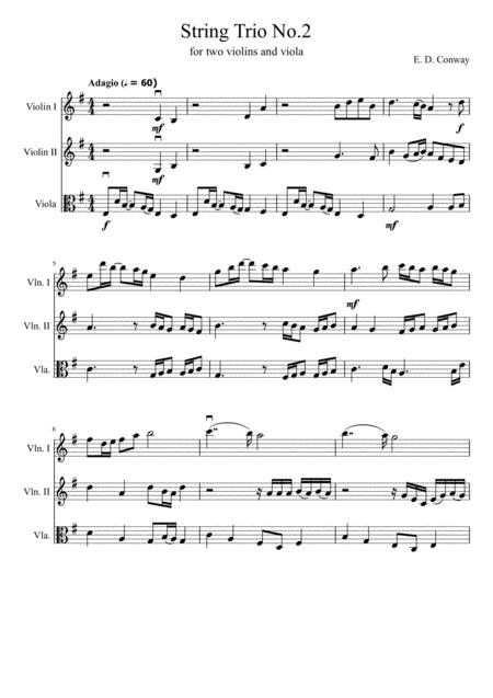 String Trio No. 2