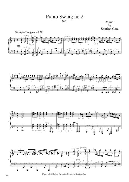 Piano Swing no.2