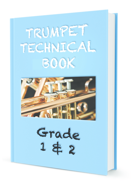 AMEB Compatible Trumpet Scales Grade 1 and 2