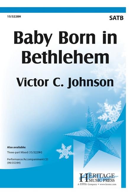 Baby Born in Bethlehem