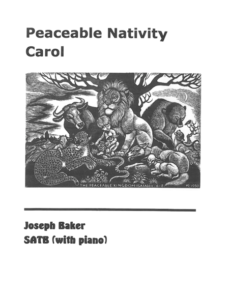 Peaceable Nativity Carol