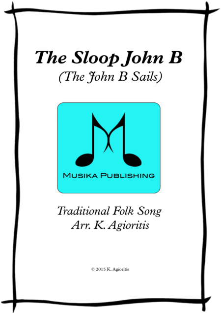 The Sloop John B (The John B Sails) - Flute Quartet