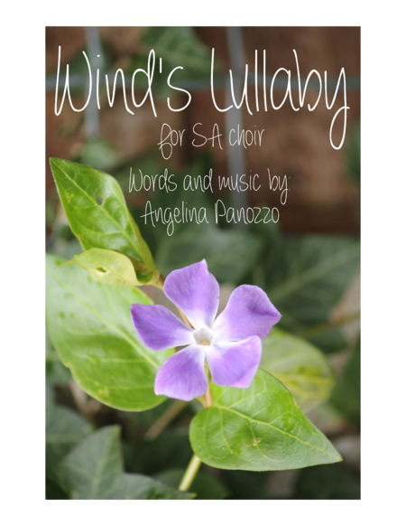Wind's Lullaby - SA choir