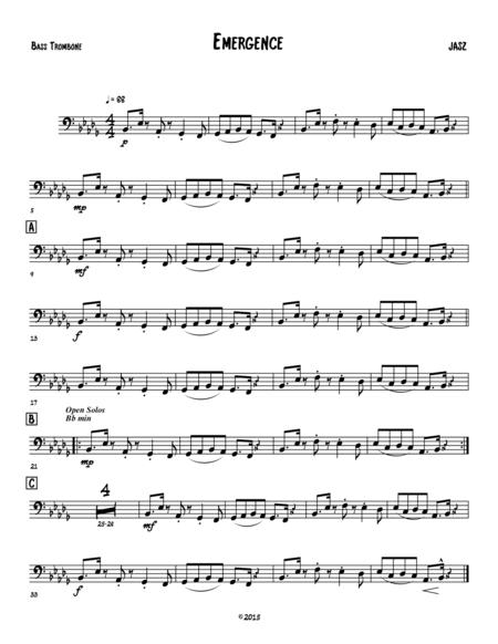 Emergence - Bass Trombone