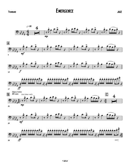 Emergence - trombone