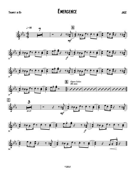 Emergence - trumpet