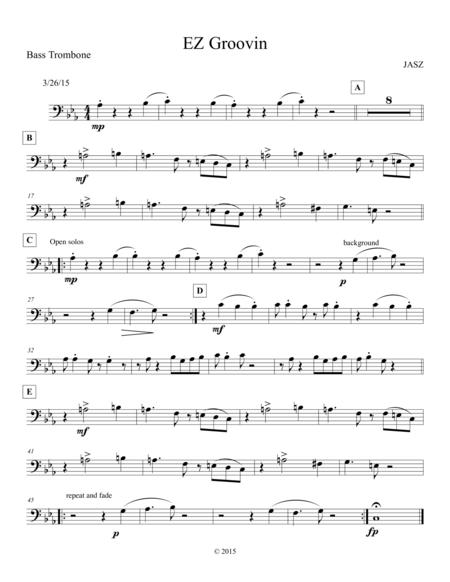 EZ Groovin - trombone 2